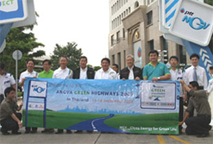 ANGVA Green Highways 2009  Project