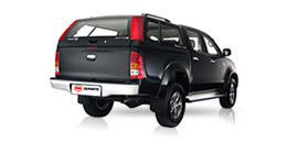 Steel Canopies and Accessories for Pick-up Trucks